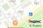 Схема проезда до компании Kim Kan в Москве