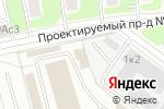 Схема проезда до компании 5vann.ru в Москве