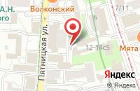 Схема проезда до компании Космос Комплект в Москве