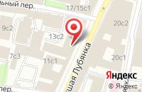 Схема проезда до компании Сода-Медиа в Москве