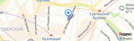 Patrizio Scorzeni на карте Москвы