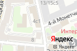 Схема проезда до компании Нетали-Дизайн в Москве