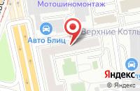 Схема проезда до компании Интер-Строй в Москве