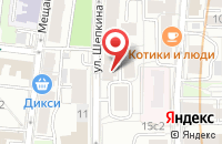 Схема проезда до компании Финанспром в Москве