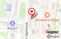 Схема проезда до компании Клуб 7 Вершин в Москве