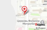 Схема проезда до компании Ирис-И.Л. в Москве