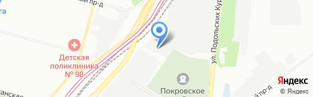 50style на карте Москвы