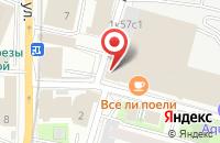 Схема проезда до компании Фирма ЛАМА в Москве