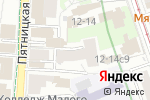 Схема проезда до компании Sarpa в Москве