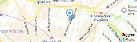 Правовые консультации на карте Москвы