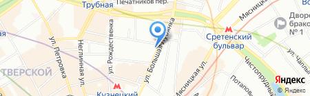 Вип Тур Плюс на карте Москвы