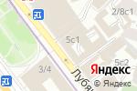Схема проезда до компании Бизнес-Консалт в Москве