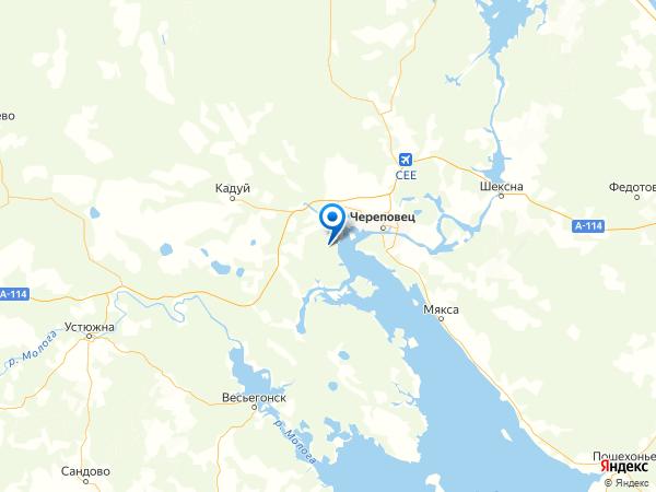 деревня Большая Дора на карте