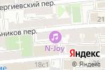 Схема проезда до компании Русский Кадровый Дом в Москве