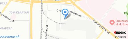 ОРИОН-СТРОЙ на карте Москвы