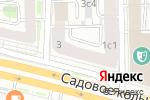 Схема проезда до компании Баден+1 в Москве