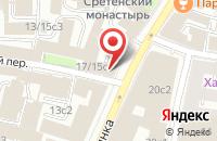 Схема проезда до компании Брэнд Сервис энд Медиа Криэйшн в Москве