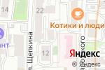Схема проезда до компании Сканиа в Москве