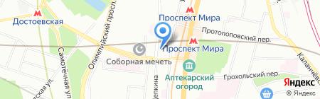 Объединенные Юристы на карте Москвы