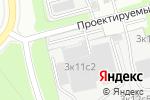 Схема проезда до компании Wonder Light в Москве