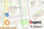 Схема проезда до компании Пантеон в Москве