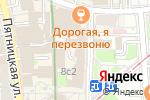 Схема проезда до компании Мона в Москве
