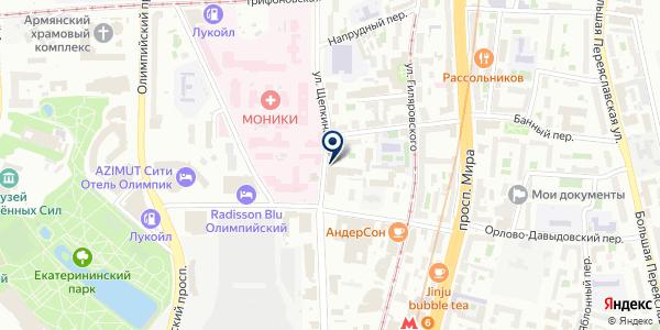 Наутилус М на карте Москве