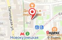 Схема проезда до компании Руком в Москве
