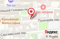 Схема проезда до компании Компания Легион в Москве