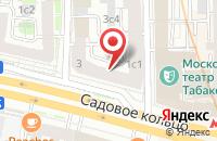 Схема проезда до компании Архитектура-С в Москве