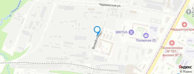 Вилюйская улица