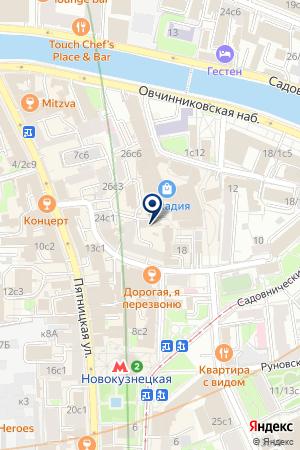 ДОМ САМОДЕЯТЕЛЬНОГО ТВОРЧЕСТВА на карте Москвы