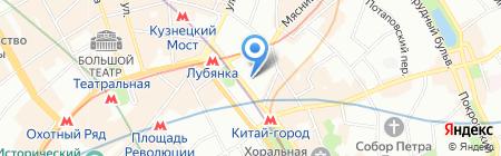 Pronto Tour на карте Москвы
