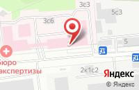 Схема проезда до компании Кронверк в Москве