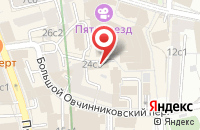 Схема проезда до компании Городской Центр Авторской Песни (Ксп) в Москве