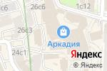 Схема проезда до компании Liberty lawyers group в Москве