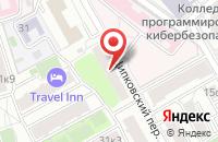 Схема проезда до компании Сити Компани в Москве