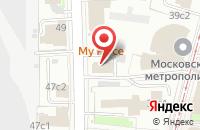 Схема проезда до компании Дорпромресурс в Москве