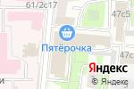 Схема проезда до компании КПД Строй в Москве