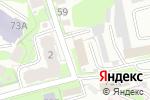 Схема проезда до компании Химпромторг в Туле