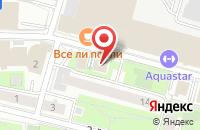 Схема проезда до компании Отптимасервис в Москве