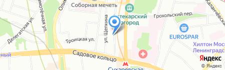 Русэксим на карте Москвы