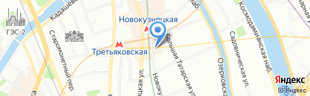 Нов Дом 1 на карте Москвы