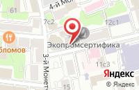 Схема проезда до компании Интерио-Лайн в Москве
