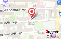 Схема проезда до компании Логика в Москве
