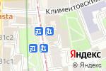 Схема проезда до компании Ткани.it в Москве