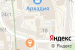 Схема проезда до компании Има-Пресс-Принт в Москве