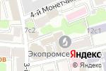 Схема проезда до компании Каф Экам в Москве
