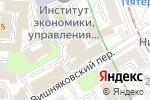 Схема проезда до компании ВодоходЪ в Москве
