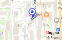 Схема проезда до компании ПТФ ИНФОКРИСТАЛЛ в Москве